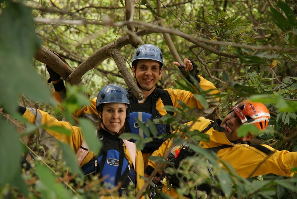 Cañonismo Canyoning Morelos Mil cascadas Granadas