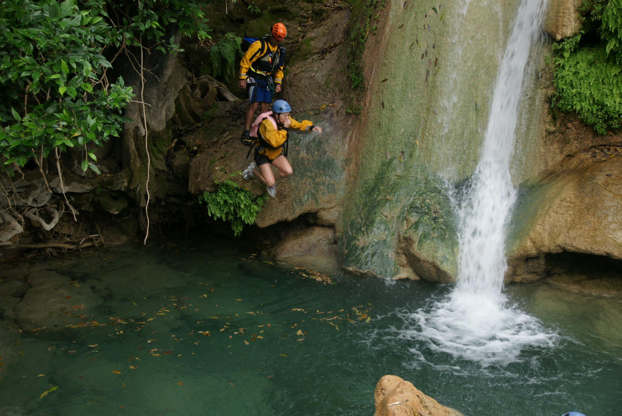 Canyonnering Torrentismo Barranquismo Morelos TAxco Mil cascadas