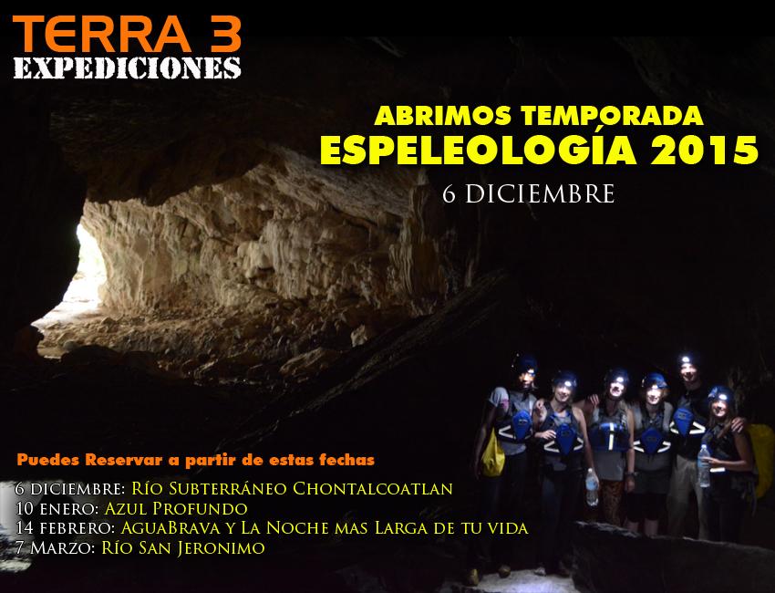 Espeleología en Morelos, Cuevas, grutas