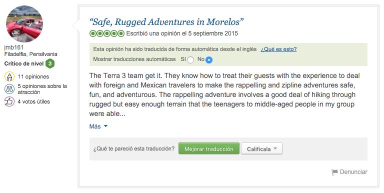 trip advisor TERRA 3