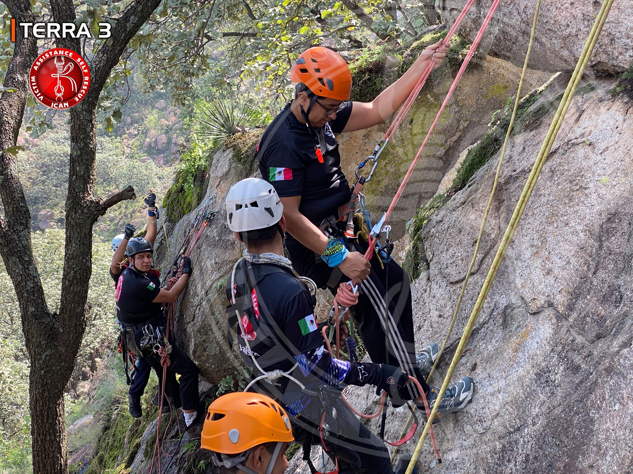 Auto Rescate Canyoning
